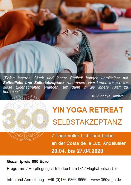 yin yoga retreat andalusien